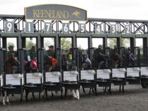 Keeneland Starting Gate