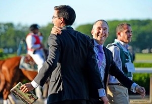 Miguel Clement and Christophe Lorieul (Photo by Nancy Rokos/Equine Photo-Art)