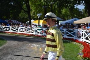 Julian Leparoux at Saratoga