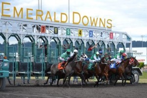Emerald Downs Gate